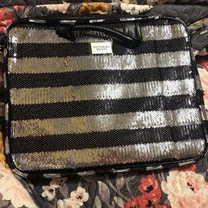 NEW VS Victoria's Secret Bling Laptop Bag Case